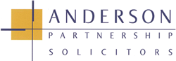 Andersons Solicitors logo, worked with Dansies for over 10 years in Chesterfield